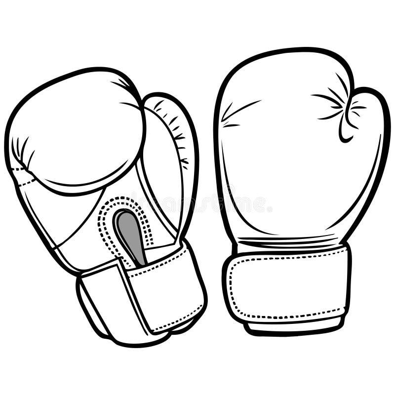 拳击手套例证 库存例证