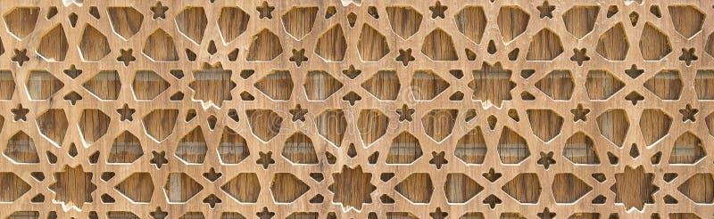 拷贝空间:在木橡木背景的格子瓦片 纹理 库存照片
