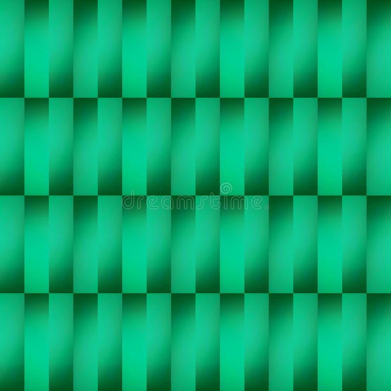 拼贴画抽象设计从一个不透明的玻璃图象的与在绿色、背景和纹理的间接光 向量例证