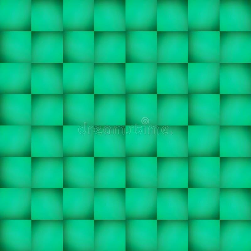拼贴画抽象设计从一个不透明的玻璃图象的与在绿色、背景和纹理的间接光 皇族释放例证