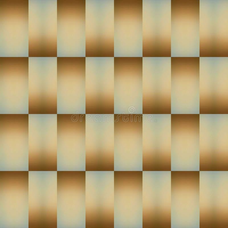 拼贴画抽象设计从一个不透明的玻璃图象的与在褐色的间接光和蓝色、背景和纹理 向量例证