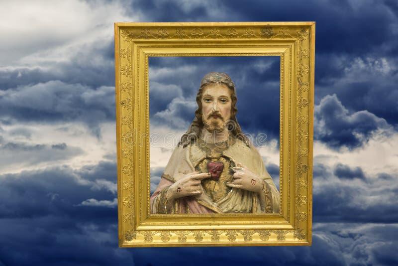 拿撒勒耶酥上帝的儿子 皇族释放例证