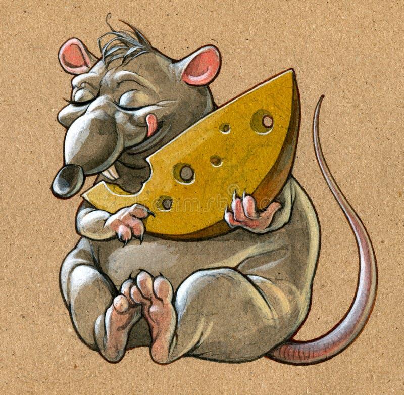 老鼠 库存例证