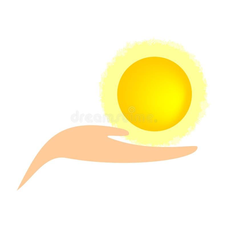 Download 拿着太阳的手 库存例证. 插画 包括有 次幂, 可延续, 晒裂, 现有量, 查出, 生态, 能持续力, 能源 - 30334594
