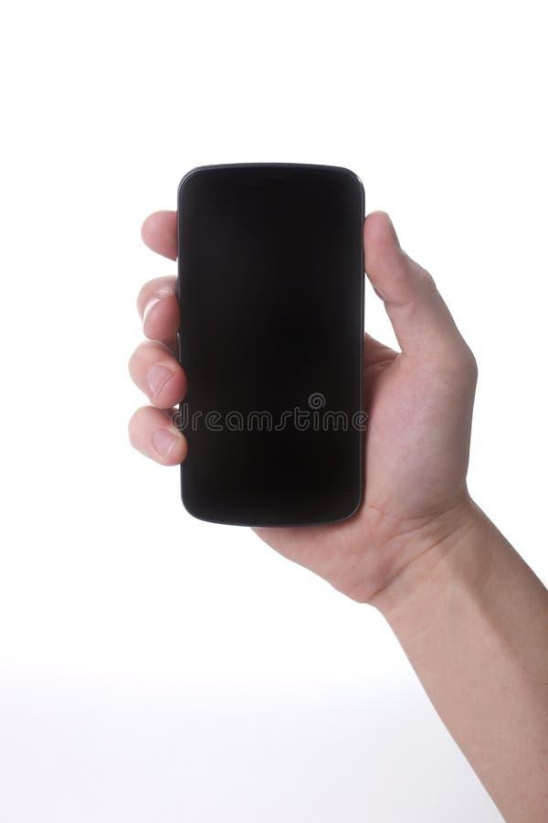 Download 拿着接触巧妙的手机的手 库存照片. 图片 包括有 现有量, 电话, 关键董事会, 可移植, 空白的, 新闻 - 30329332