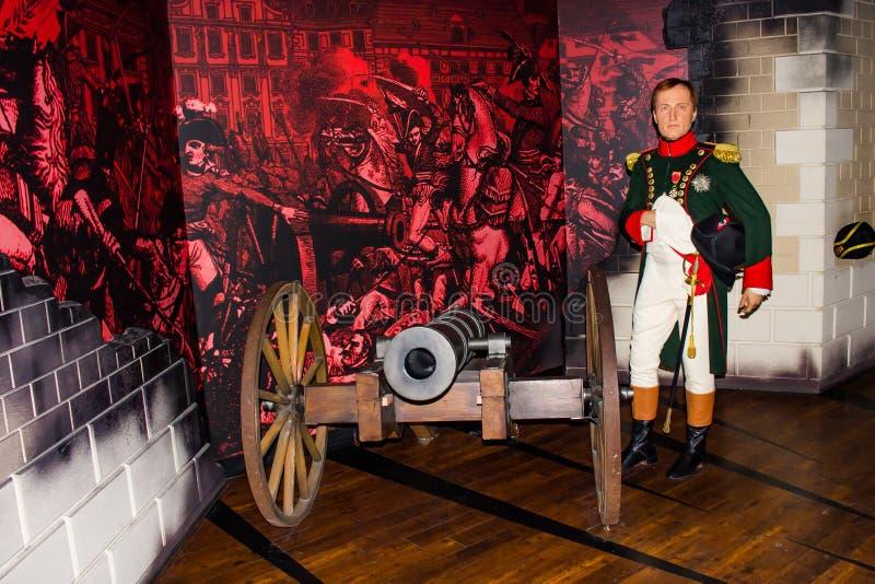 拿破仑・波拿巴蜡象,索夫的Museum,维也纳女士 库存照片