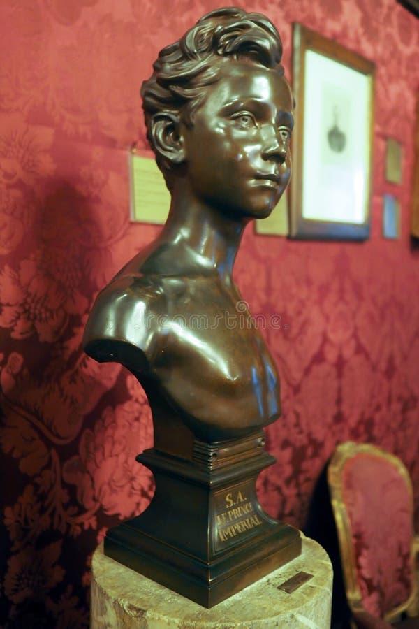 拿破仑似的博物馆在罗马,意大利 库存照片
