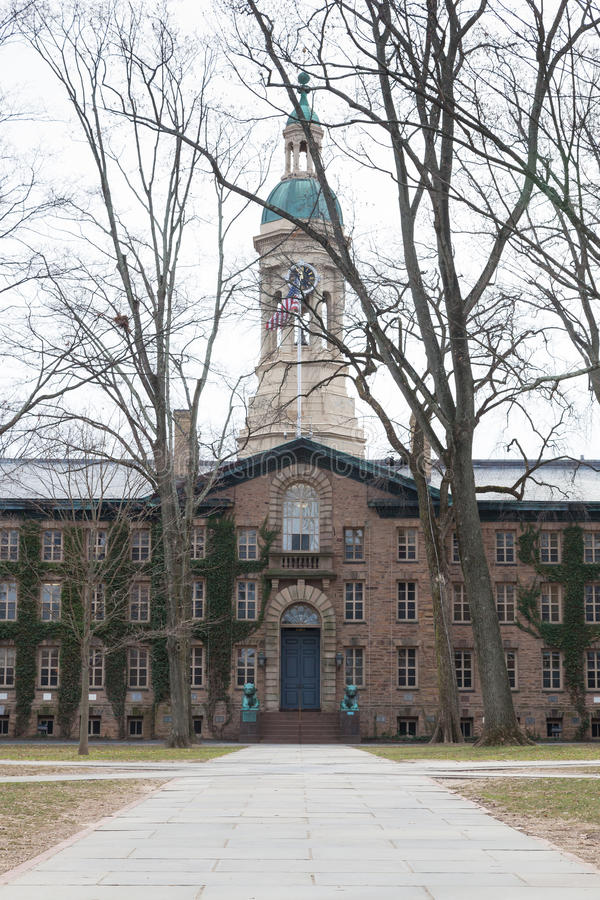 拿骚霍尔普林斯顿大学 图库摄影