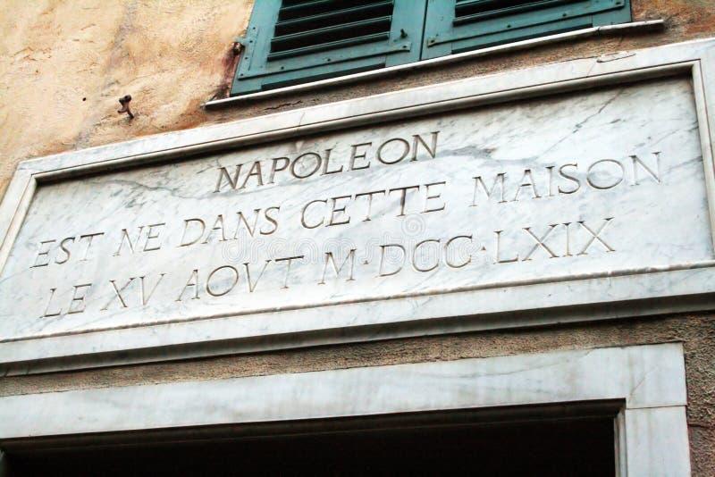 拿破仑房子 免版税库存照片