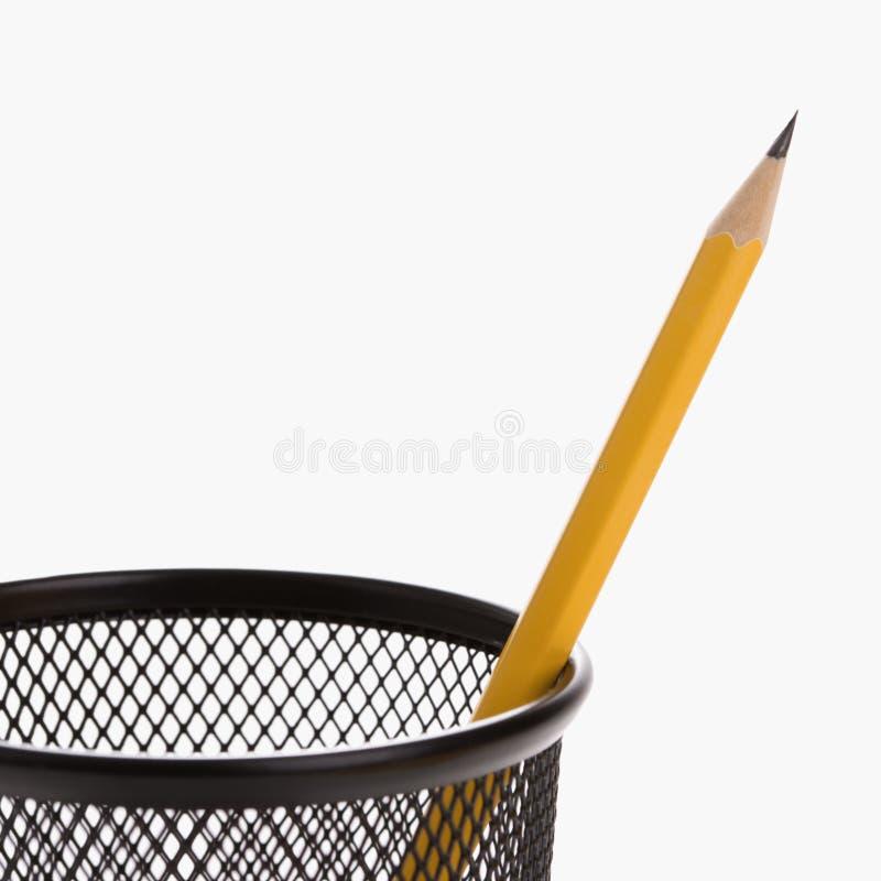 持有人铅笔 免版税库存图片