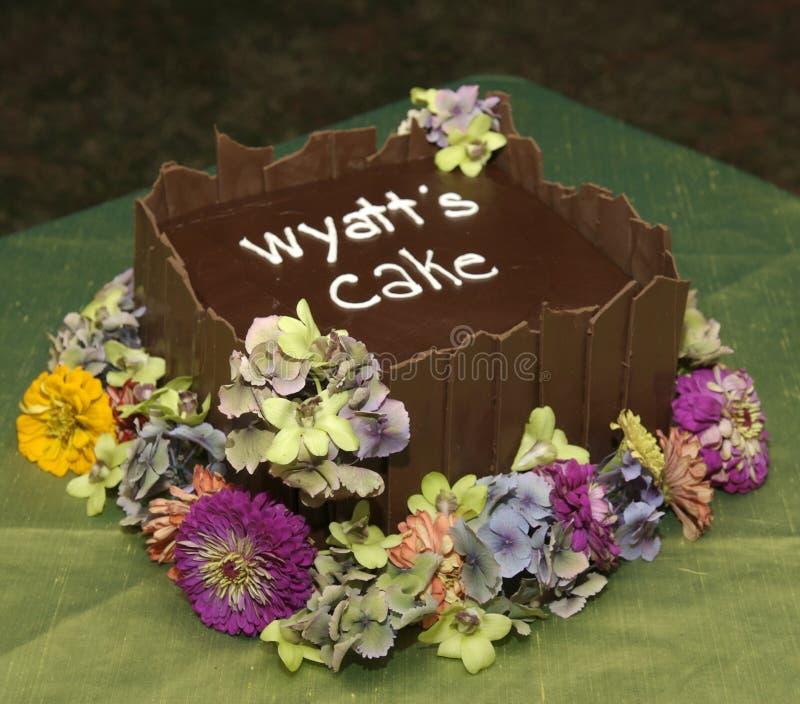 持票人蛋糕环形s 库存照片