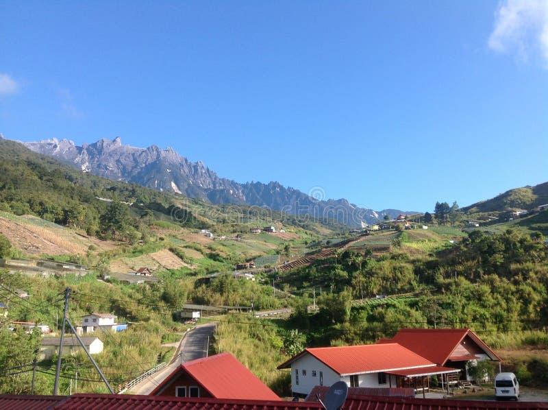 挂接Kinabalu 免版税图库摄影