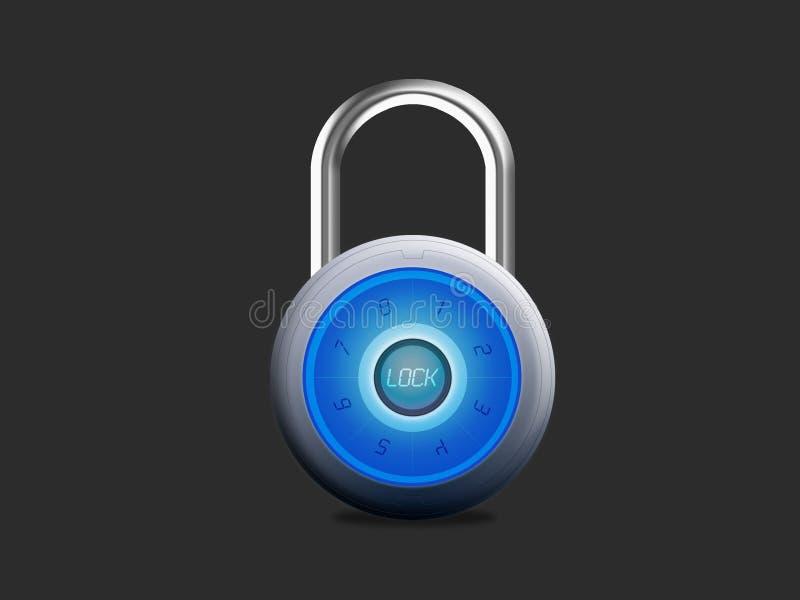 挂锁安全 免版税图库摄影