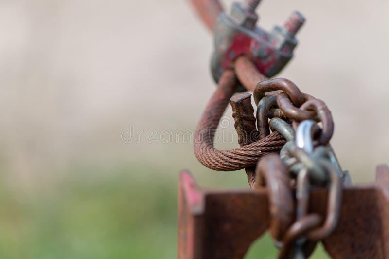 挂锁的宏指令 库存照片
