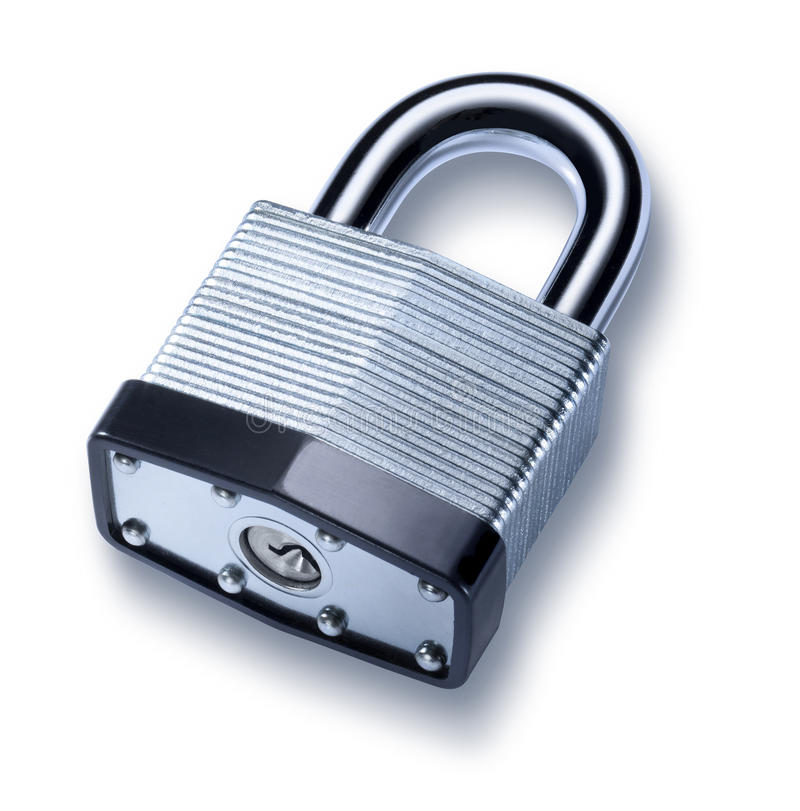 挂锁锁定 库存照片
