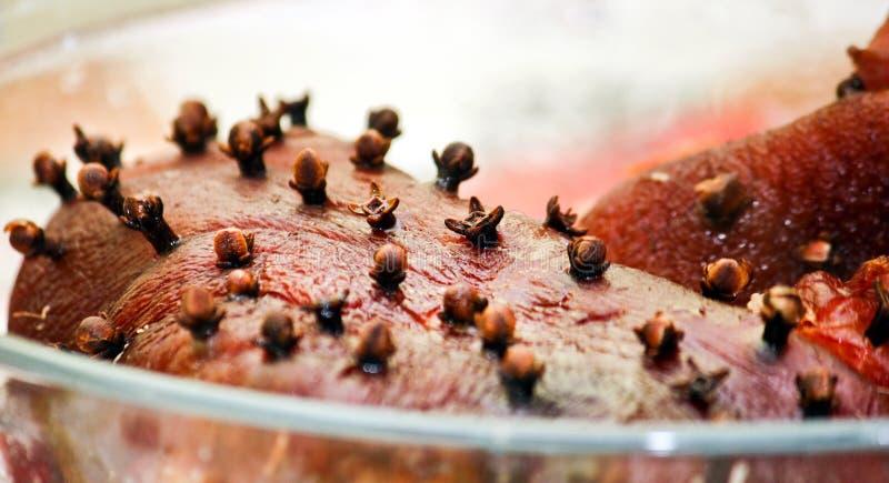 指关节猪肉 免版税图库摄影