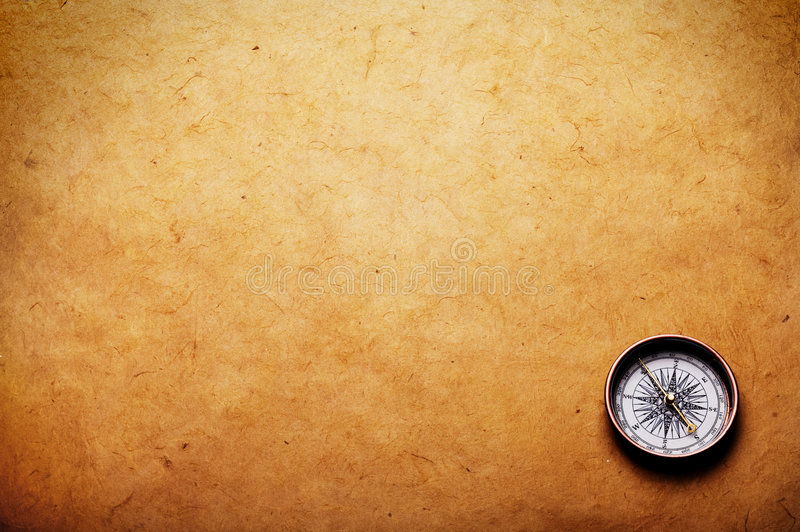 指南针 库存照片