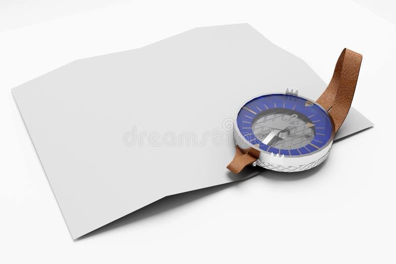 指南针 免版税库存图片