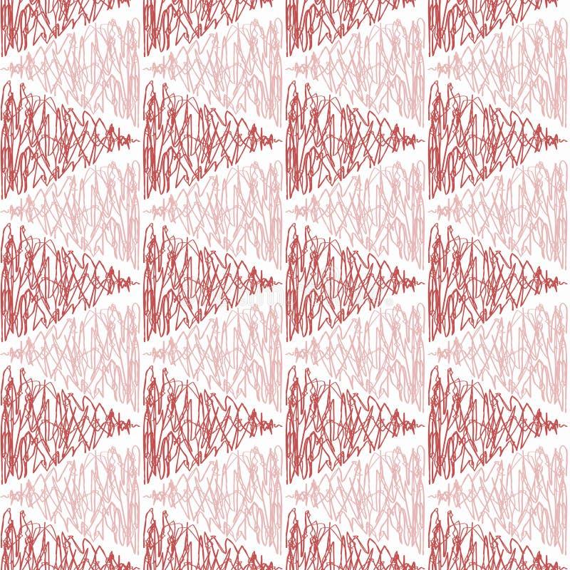 指向样式纹理的无缝的三角 皇族释放例证