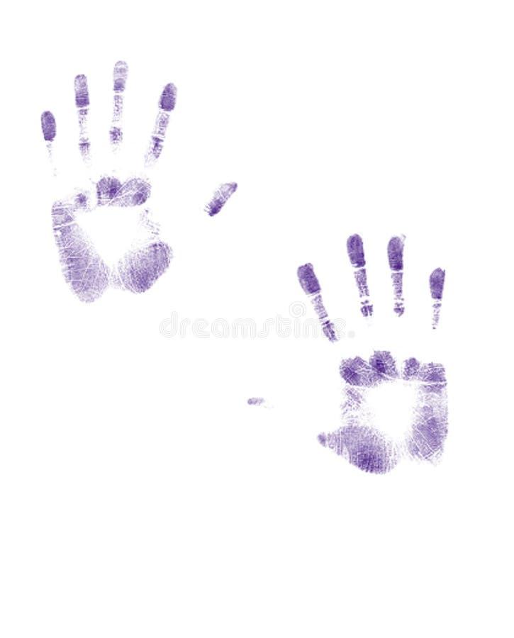 指尖 免版税库存照片