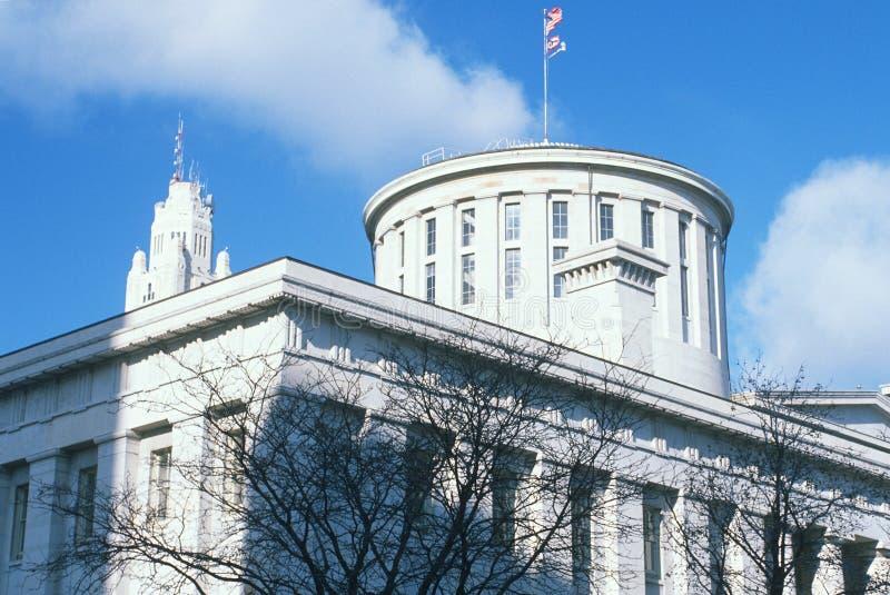 指明俄亥俄的国会大厦 库存图片