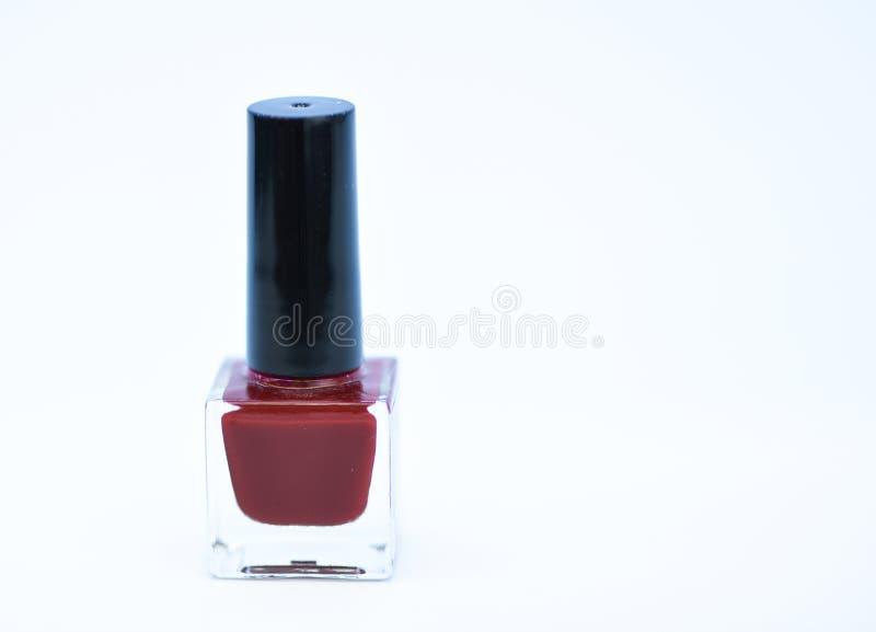 指甲油涂层的耐久性和质量 胶凝体波兰现代技术 采撷颜色 指甲油瓶明亮的颜色 免版税库存照片