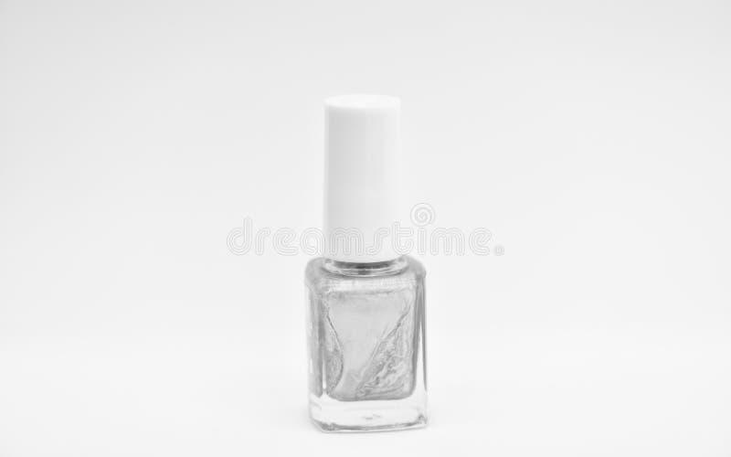 指甲油瓶明亮的颜色 i E r 耐久性和 库存图片