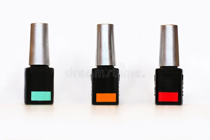 指甲油 指甲油的大选择 图库摄影