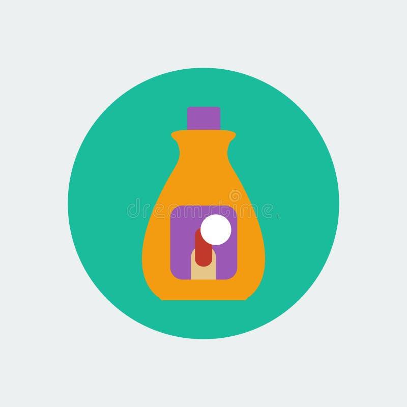 指甲油去膜剂 库存例证