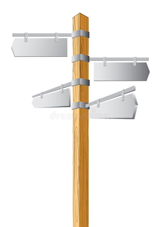 指针结构树 向量例证