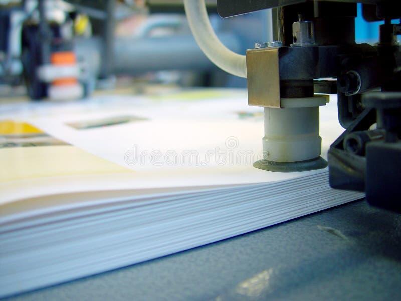 按打印 库存图片