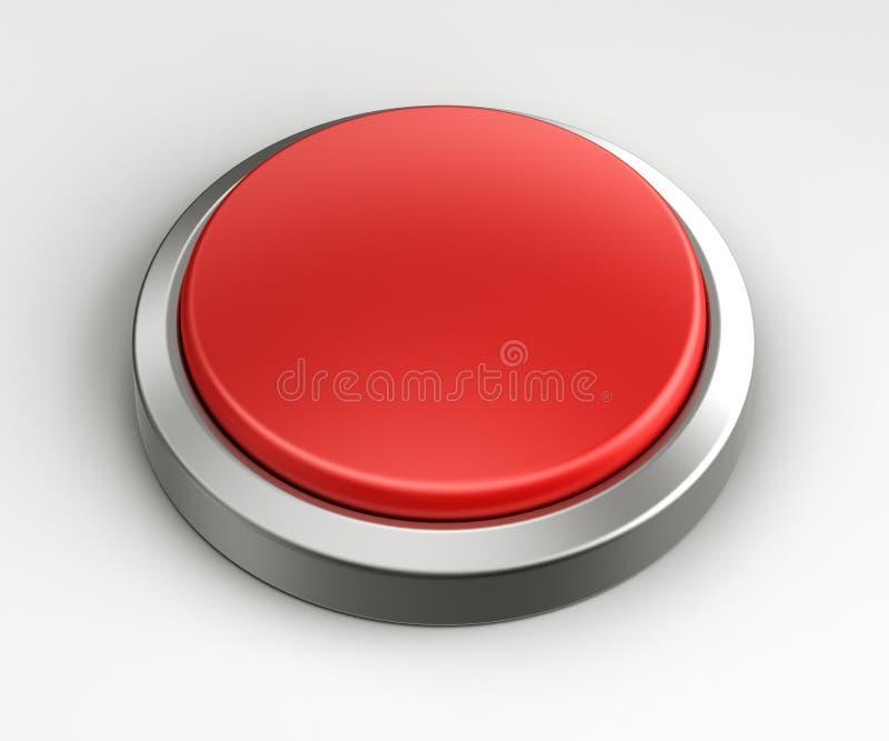 按空的红色 向量例证