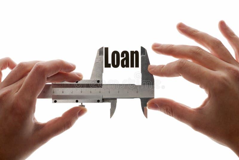 按量配给贷款 免版税库存图片