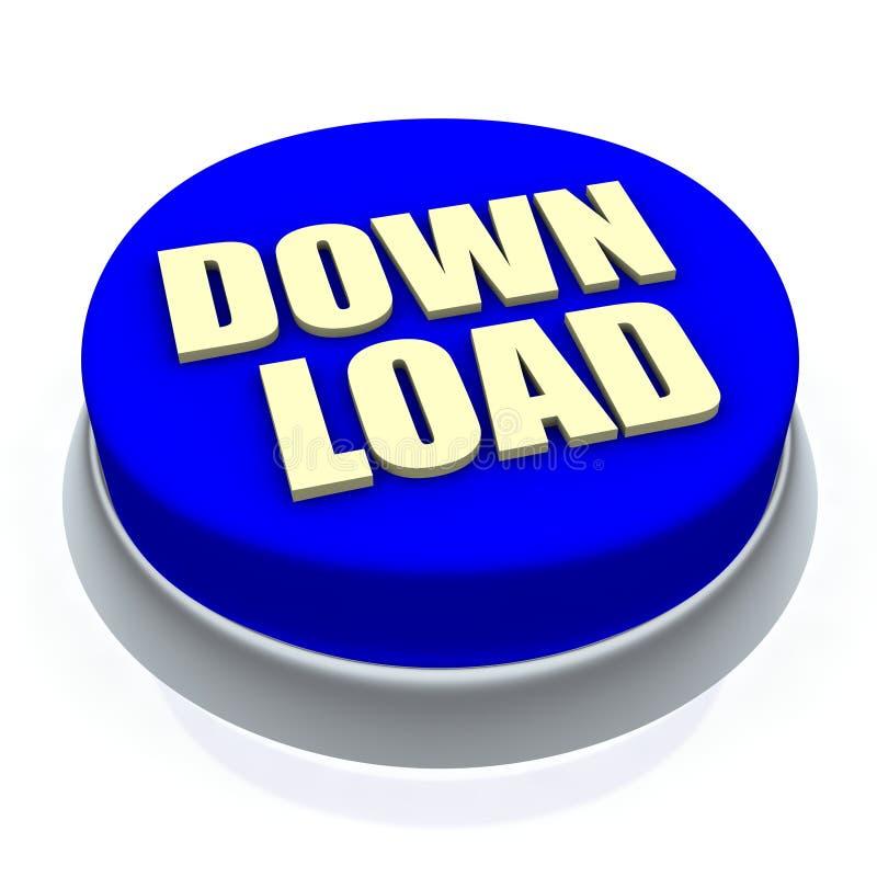 按钮下载 向量例证