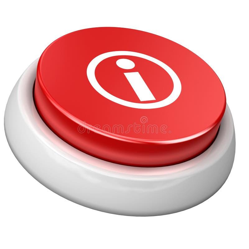 按钮信息 向量例证