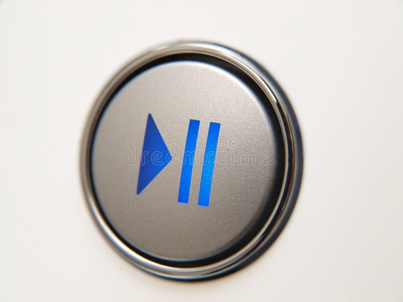 按钮停留作用 免版税库存图片