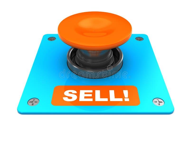 按钮出售 向量例证