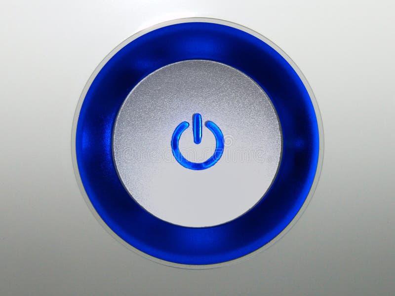 按钮推进 免版税库存图片