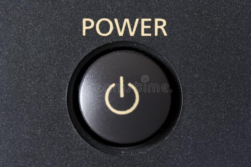 按钮次幂 库存照片