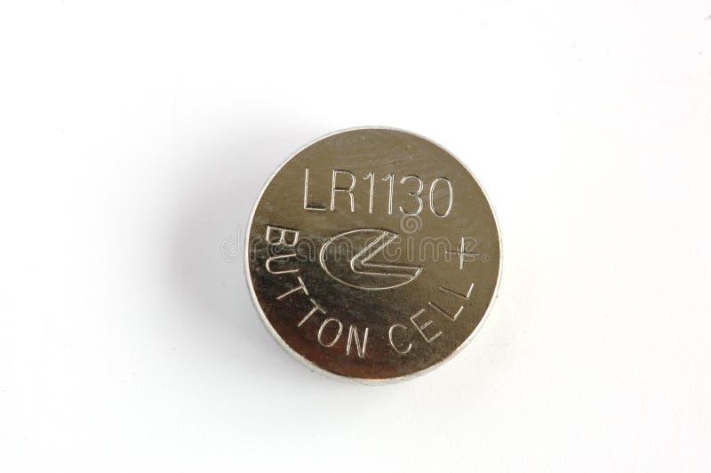 按钮电池 免版税库存照片