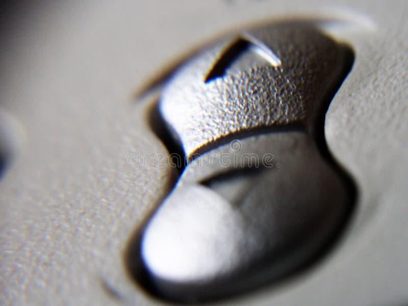按钮监控程序 图库摄影