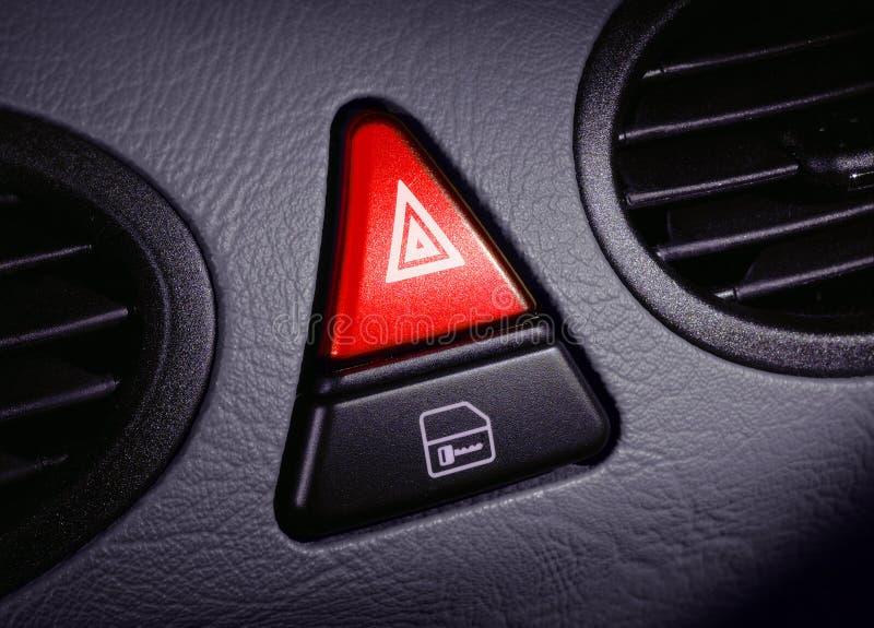 按钮紧急 库存照片