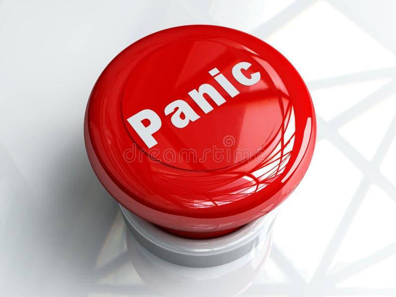 按钮紧急 向量例证