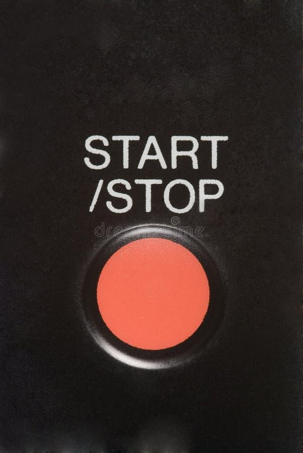 按钮起始时间 库存图片