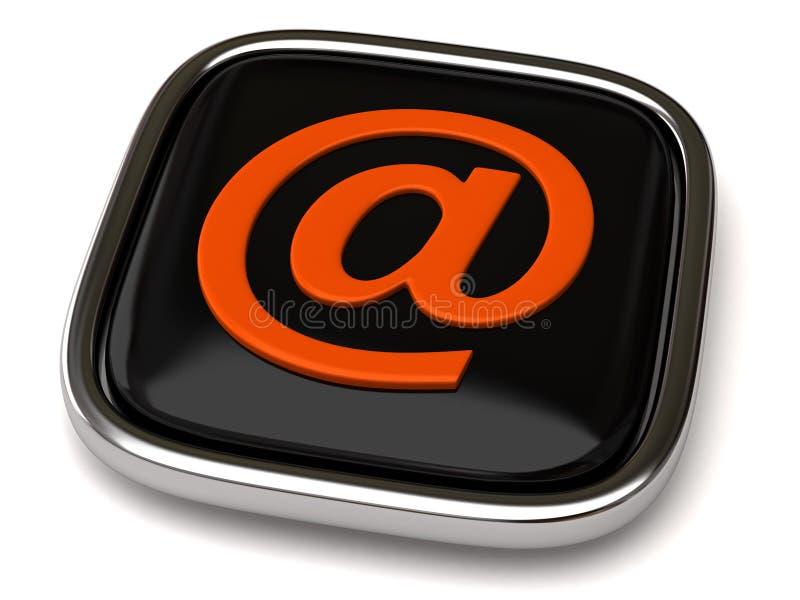 按钮e邮件 向量例证