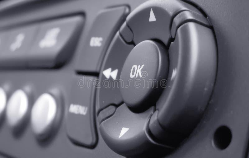 按钮ok 免版税库存图片