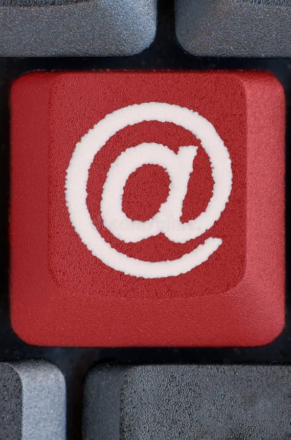 按e邮件 免版税图库摄影