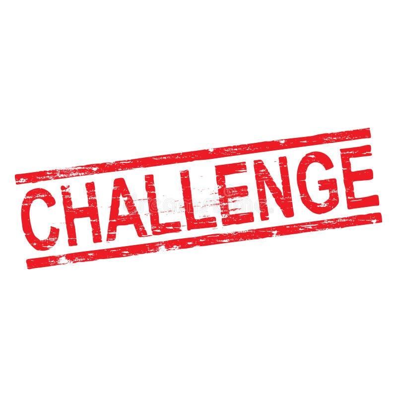 挑战不加考虑表赞同的人 向量例证