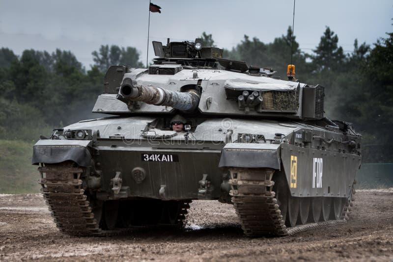 挑战者1坦克 免版税图库摄影