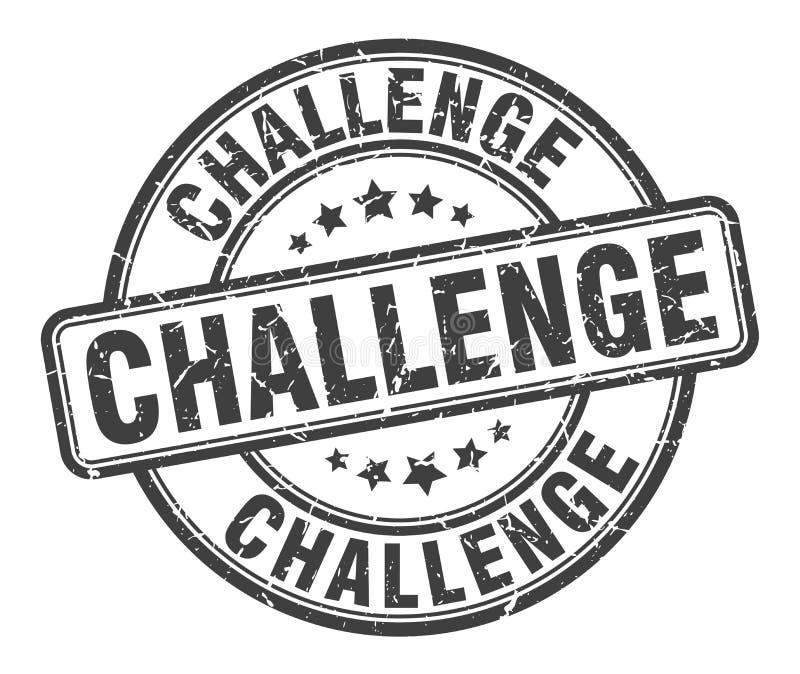 挑战邮票 向量例证